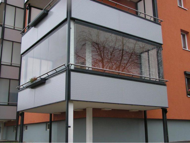 cortina de cristal sin perfiles en Alicante