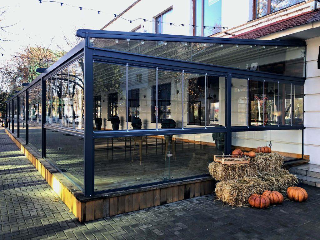 Acristalamientos para locales y restaurantes